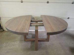 Круглый раздвижной стол Форт