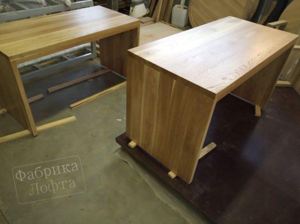 Компьютерный стол из массива Вик