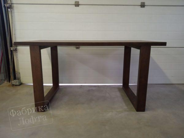 Компьютерный стол из массива дуба СК2