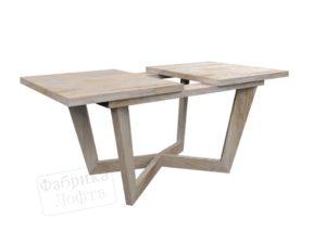 Раздвижной стол из массива Стейген