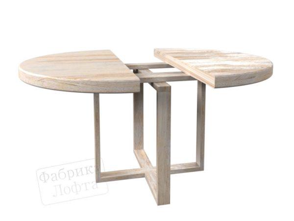 Раздвижной стол из массива Форт