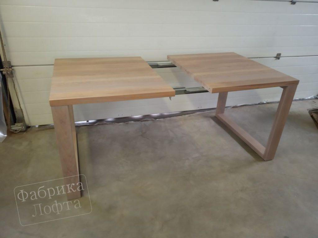 Раздвижной стол из массива СК 900х2000