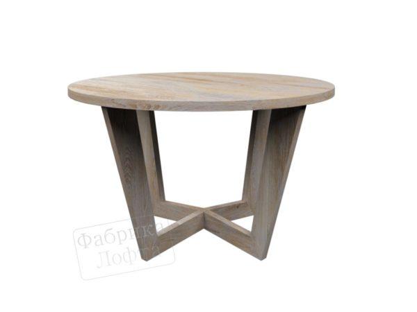 Круглый стол из массива Грос