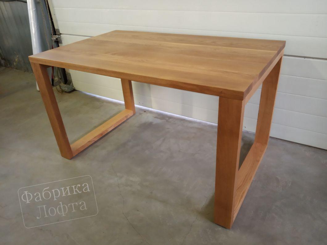 Обеденный стол из массива 800х1300 мм