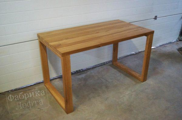 Обеденный стол из массива 700х1300 мм