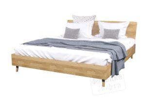 Кровать из массива Сола