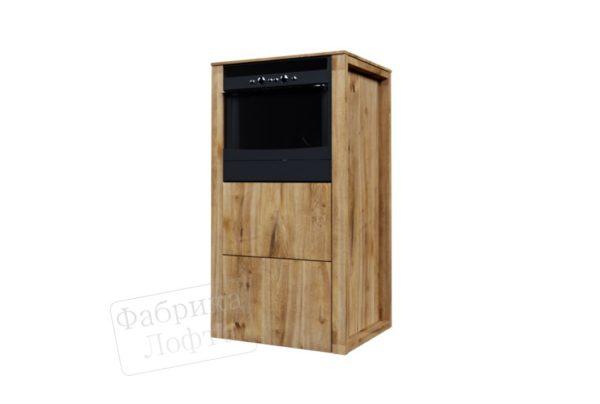 Кухонный шкаф из массива КС-6