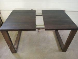 Раздвижной стол из массива СК 800х1600