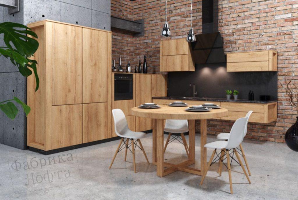 Кухня в стиле лофт Скенленд 4