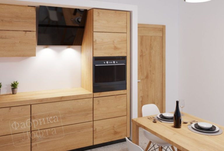 Кухонный шкаф из массива КС-8