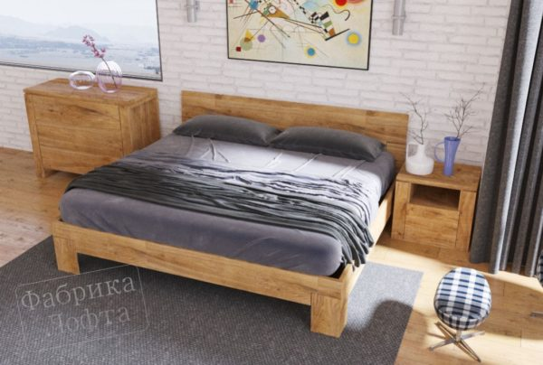 """Кровать в стиле лофт """"Скенленд"""""""