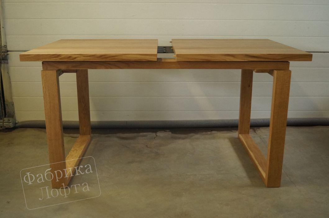 Раздвижной стол из дуба СК-2