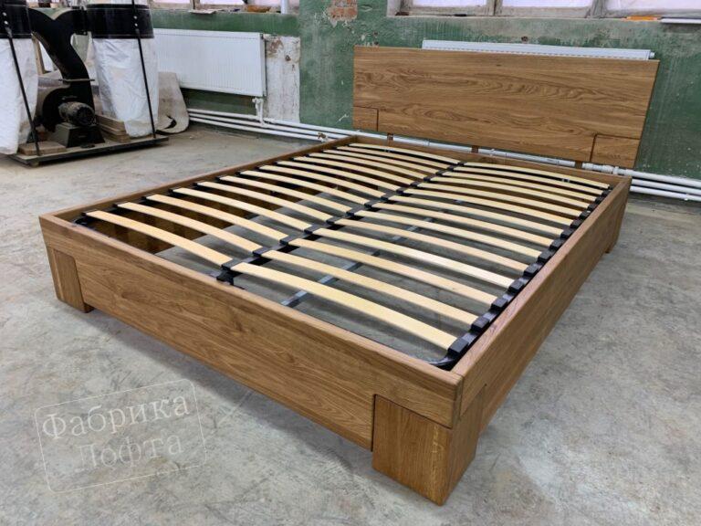 """Кровать из массива """"Скенленд"""" 1600х2000 мм"""