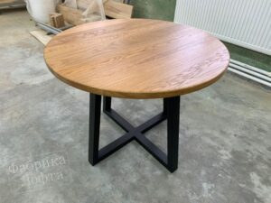 Раздвижной круглый стол Форт 2